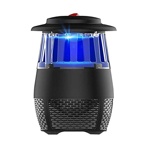 USB Electric Photocatalyst LED Mosquito Killer Lamp Bug Zapper Insect Repeller Mosquito Trap Home Bedroom Anti-Mosquito Tools   Black