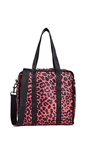 LeSportsac Women's Gabrielle Box Tote, Ruby Leopard, Pink, Print, One Size