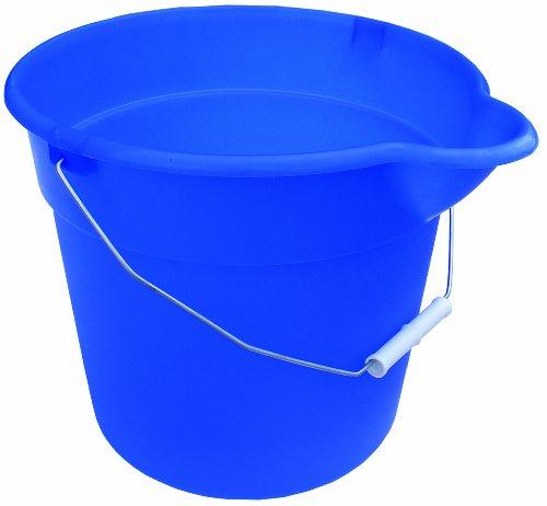 Encore 12384 12-Quart Blue Mop Bucket with Pour Spout