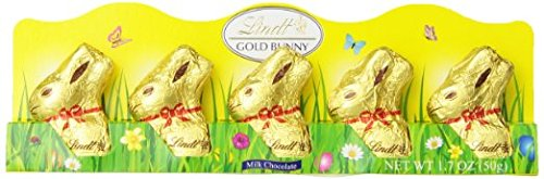 Easter Lindt Gold Bunny Milk Chocolate Easter Bunny 5 Count
