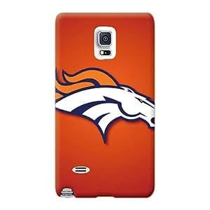 JacquieWasylnuk Samsung Galaxy Note 4 Scratch Protection Mobile Covers Unique Design Fashion Denver Broncos Series [KnW615dTDi]