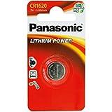 Panasonic CR 1620 Pila a Bottone, 3 V