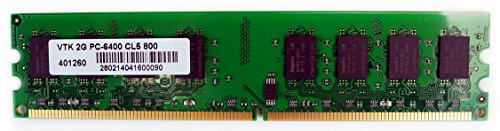 VisionTek 2GB DDR2 800 MHz (PC2-6400) CL5 DIMM, Desktop Memory - 900434 from VisionTek