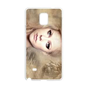 avril lavigne under the sea Samsung Galaxy Note 4 Cell Phone Case White Tribute gift pxr006-3883165