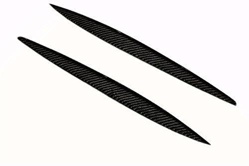 For 2008-2013 Mazda 6 Atenza Carbon Fiber Headlight Eyelids