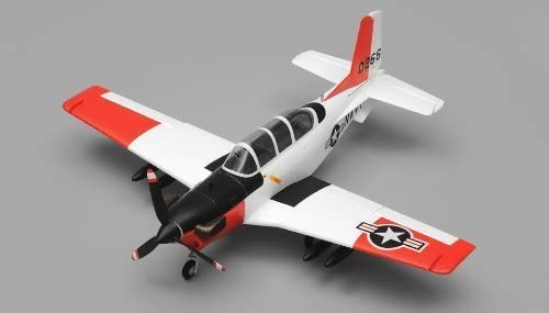 Airfield T34 Mentor RC Plane 4 Channel Ready to Fly RTF Wingspan 750mm (Red) by Airfield: Amazon.es: Juguetes y juegos