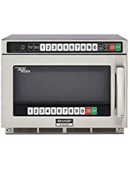 Sharp Heavy Duty Twin Touch Commercial Microwave - 1200 Watt