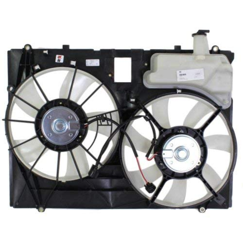 - Garage-Pro Cooling Fan Assembly for TOYOTA SIENNA VAN 2006-2010 3.5L Engine Dual Type