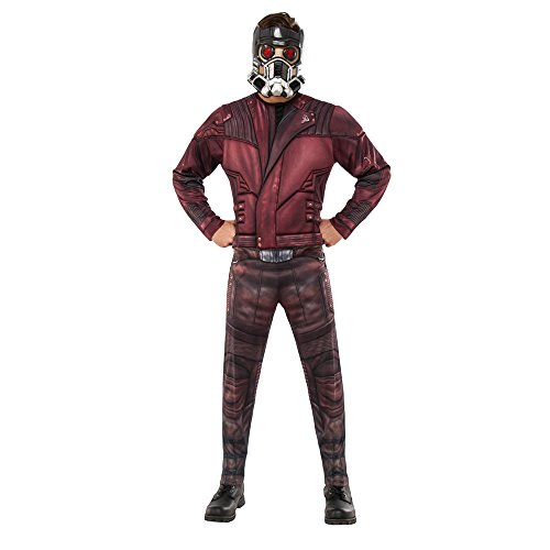 Rubie's Men's Guardians of the Galaxy Volume 2 Star-Lord Costume, Deluxe, (Star Costumes)