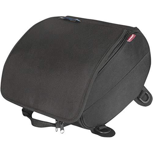 04-00 Water Resistant Motorcycle Tail Bag: Black, Universal Fit, 24 Liter Capacity ()