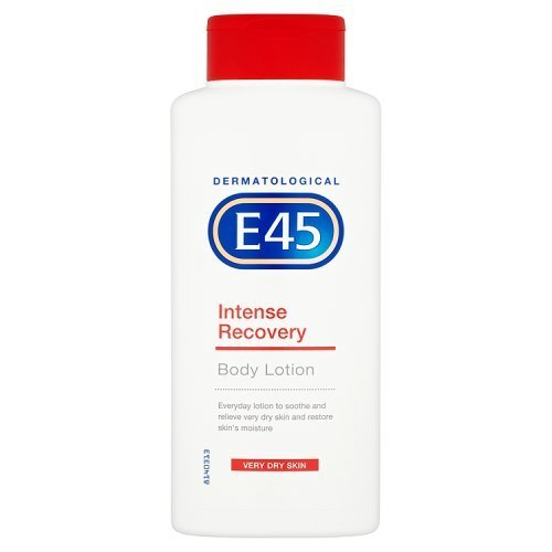 E45 Dermatological Intense Recovery Lotion Very Dry Skin, 400ml by (E45 Bath)