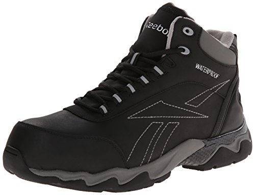 Image of the Reebok Work Men's Beamer RB1068 Work Shoe, Black, 13 M US