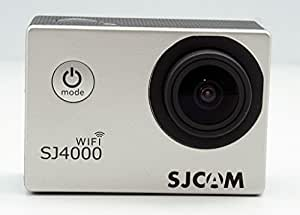 SJCAM Original SJ4000 WIFI - Cámara de Deporte para casco Impermeable, Video de Alta definición 1080p 720p, Color Plata