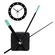 HITSAN Replacement DIY Quartz Clock Movement Mechanism Motor Kit With Luminous Hands One Piece