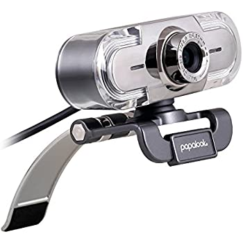 Amazon.com: papalook PA187 HD 1080P Webcam, Widescreen Video ...
