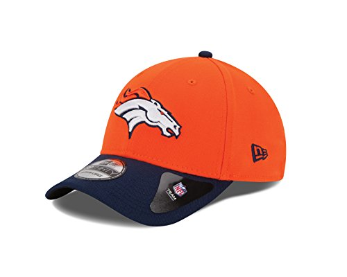 NFL Denver Broncos Team Classic 39THIRTY Stretch Fit Cap, Small/Medium, Orange (Nfl Caps compare prices)