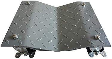 4 Silver 12 Inches Tire Premium Skates Wheel Car Dolly Ball Bearings Moving Car