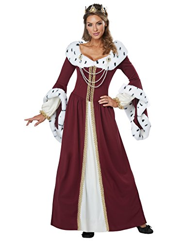 California Costumes Women's Royal Storybook Queen Adult Woman,