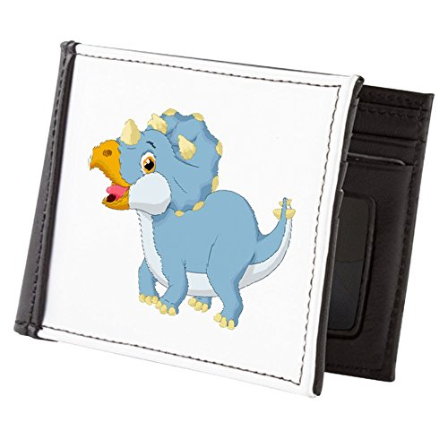Teague Dinosaur Blue Truly Triceratops Cute Wallet Wallet Men's Truly Billfold Men's Teague wxffAP