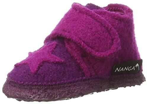 NangaStern - Zapatillas de casa Bebé-Niños Morado - Violett (bordeaux / 43)