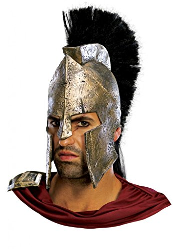 Licensed Accessory 300 Costume - Deluxe Leonidas Helmet Costume Accessory