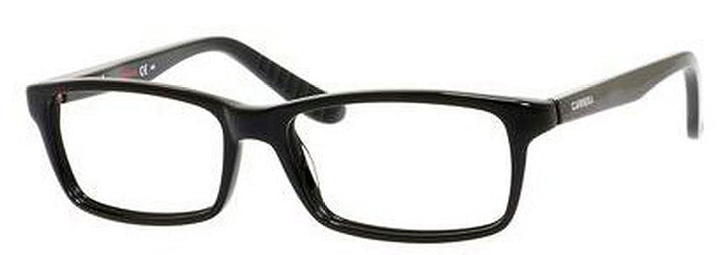 Lens Diameter 54mm Carrera 8800 Eyeglass Frames CA8800-029A-5416 Shiny Black Frame Distance
