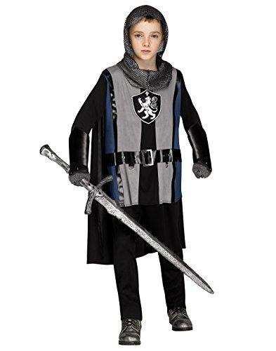 Fun World Lionheart Knight Costume, Large 12-14, Multicolor]()