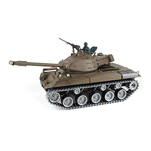 TIEHUE Military Toys,Electric RC Toys Tank, American Walker M41A3 Metal Tank 2.4Ghz Remote Control 1/16 Scale Model…