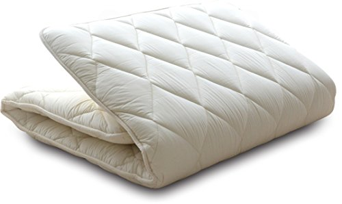 EMOOR Japanese Traditional Futon Mattress 'Classe', Japanese Full-Short Size. Made in Japan