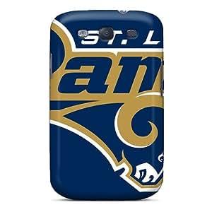 LisaSwinburnson Samsung Galaxy S3 Best Hard Phone Covers Unique Design High-definition St. Louis Rams Image [tFW18512gZKH] WANGJING JINDA