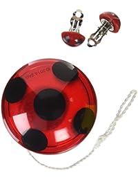 Costume Miraculous Ladybug Yo-Yo and Clip-On Earrings