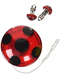 Rubies Costume Miraculous Ladybug Yo-Yo and Clip-On Earrings