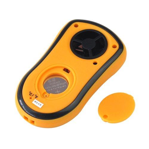 Professional Outdoor Handheld LCD Digital Wind Speed Sport Anemometer Gauge Meter Air Flow Tester