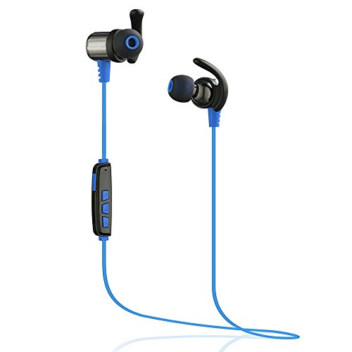 cospor bluetooth headphones wireless stereo sport earbuds noise cancelling sweat proof in ear. Black Bedroom Furniture Sets. Home Design Ideas