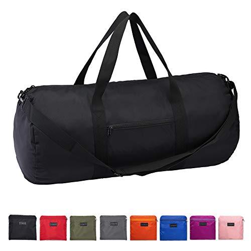"Vorspack Duffel Bag 20""-24""-28"" Foldable Gym Bag for Men Women Duffle Bag Lightweight with Inner Pocket for Travel Sports"