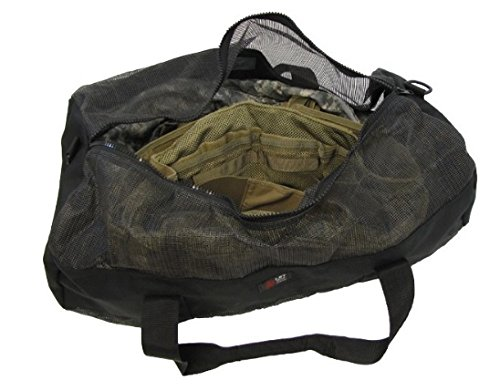 London Bridge Trading Company Mesh Dive Bag, Black