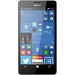 """Microsoft Lumia 950 XL Smartphone, 5.7"""", camera di 20 MP, 32 GB, Windows Phone 10, Nero [Italia]"""