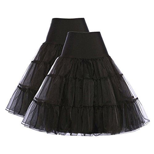 GRACE KARIN Women's 50s Vintage Petticoat Crinoline Tutu Underskirts Size S - 4X