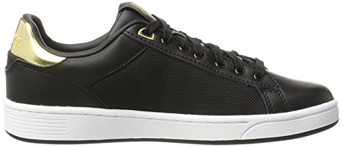 black Court Femme Basses 099 swiss Noir Cmf Sneakers K gold Clean white EnR8q7na