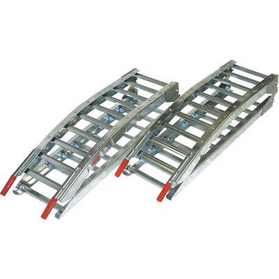 West-Folding-Arched-Hybrid-Ramp-Set-1400-Lb-Capacity-7ftL-Model-1224