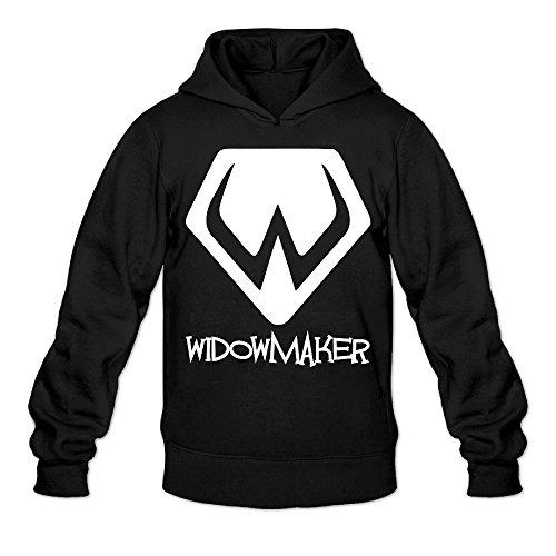 Overwatch Men's Widowmaker Hoodies Sweatshirt Size XXL Black ()