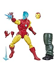Hasbro Marvel Legends Series 6-inch Collectible Civil Warrior Action Figure Toy For Age 4 And Up With Shield Accessory