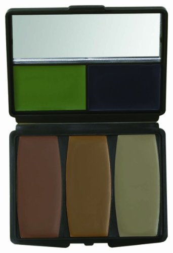 Hunters Specialties 5 Color Military Forest Digital Makeup - Paint Face Camouflage