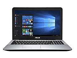 Asus X555UB 15.6-inch FHD Laptop (6th Generation Intel Core i5 6200U, 2.3GHz, 8GB RAM, 1TB 7200rpm HDD, NVIDIA GeForce 940M, DVD-SuperMulti Drive, Bluetooth, HDMI, HD Webcam, Windows 10 Home), Black