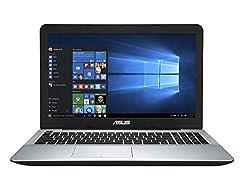 Asus X555UB 15.6-inch FHD Laptop (6th Generation Intel Core i5 6200U, 2.3GHz, 8GB RAM, 1TB 7200rpm HDD, NVIDIA GeForce 940M, DVD-SuperMulti Drive, Bluetooth, HDMI, HD Webcam, Windows 10 Home), Black
