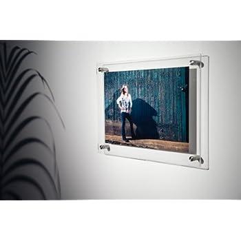 Amazon.com: Wexel Art 15x18-Inch Double Panel Clear Acrylic Floating ...