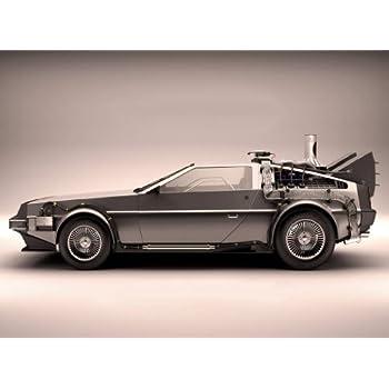 Amazon.com: DeLorean – regreso al futuro 11 x 17 Póster de ...
