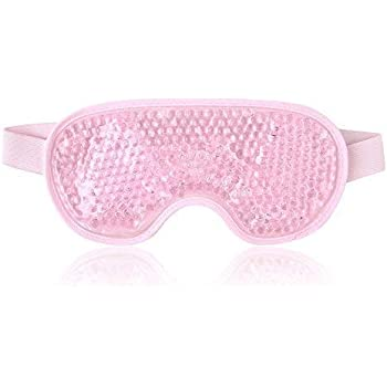 Amazon.com: Gel Eye Mask Cold Pack Warm Hot Heat Ice Cool