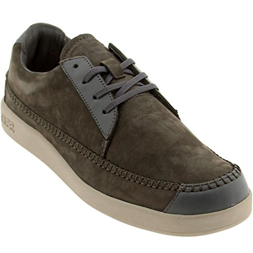 Clae Men's Romare Low (charcoal nubuck)-14.0
