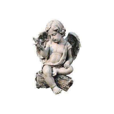 Roman, Inc. Cherub with Dove Statue ()